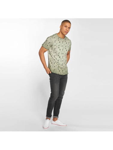 Solid Hombres Camiseta Newton in oliva