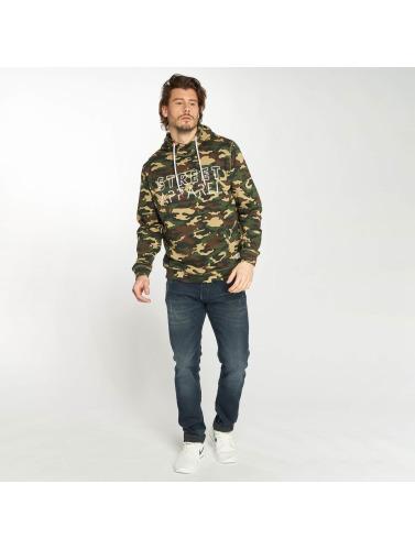 Solid Herren Hoody Nesar in camouflage