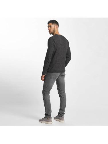 Solid Hombres Jeans ajustado Joy in gris