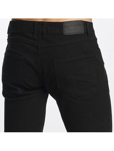 Solid Hombres Jeans ajustado Joy in negro