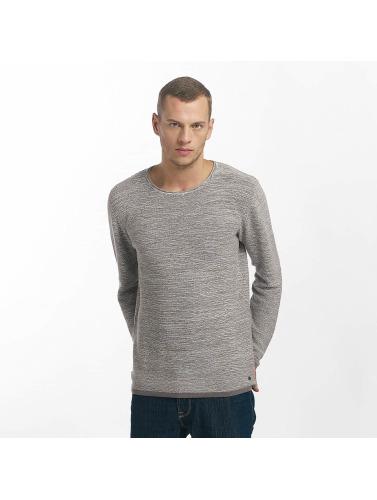 Solid Hombres Jersey Marius in gris