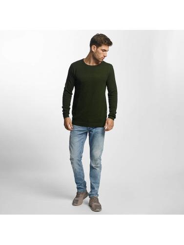 Solid Herren Pullover Gyden Knit in grün
