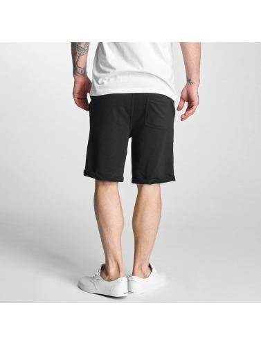 Solid Herren Shorts Gibby in schwarz