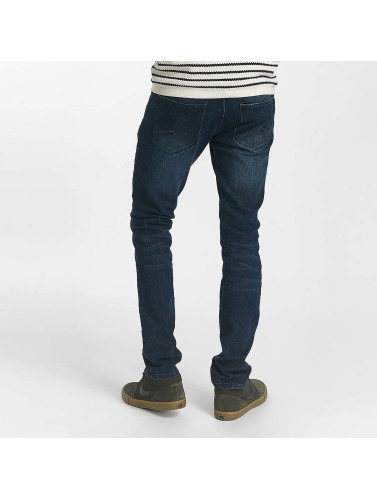 Solid Herren Slim Fit Jeans Joy Strech in blau