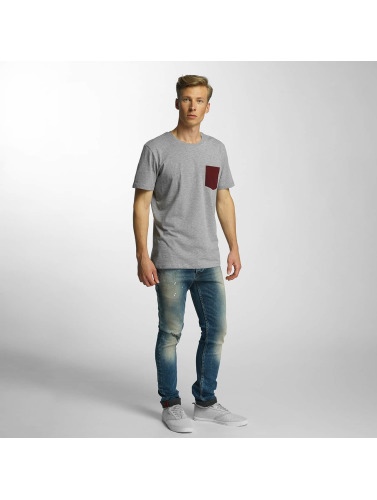 Solid Herren Straight Fit Jeans Slim in blau Auslass Bester Verkauf Mode-Stil Zu Verkaufen j9Qxh
