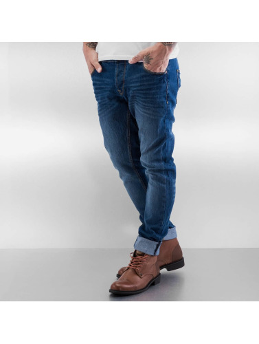 Solid Herren Straight Fit Jeans Joy Stretch in blau
