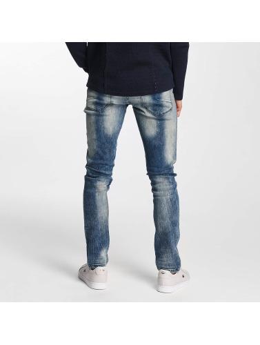 Solid Herren Straight Fit Jeans Joy Stretch Hybrid in blau