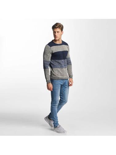 Solid Herren Straight Fit Jeans Joy in blau