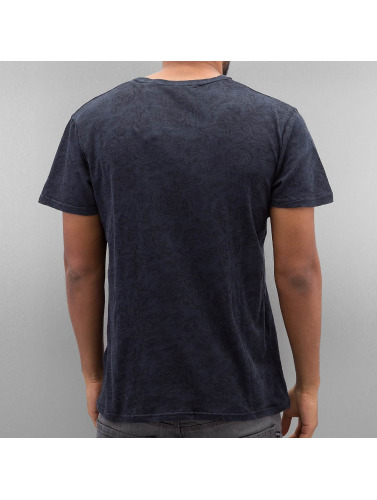 Solid Herren T-Shirt Gerard in blau