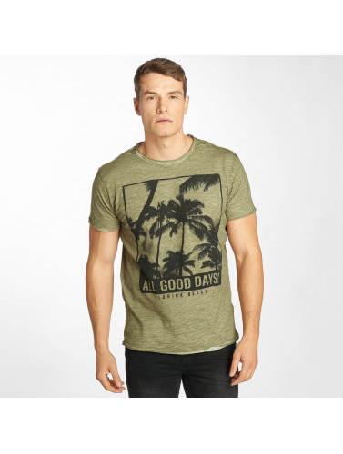 Solid Herren T-Shirt November in grün