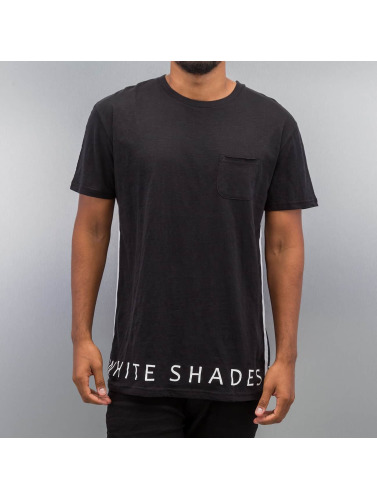 Solid Herren T-Shirt Dal in schwarz