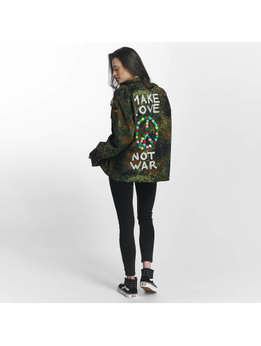 Soniush Damen Übergangsjacke Peace Jacket in camouflage