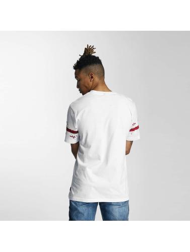 Southpole Hombres Camiseta Embo Technique Foil Print in blanco