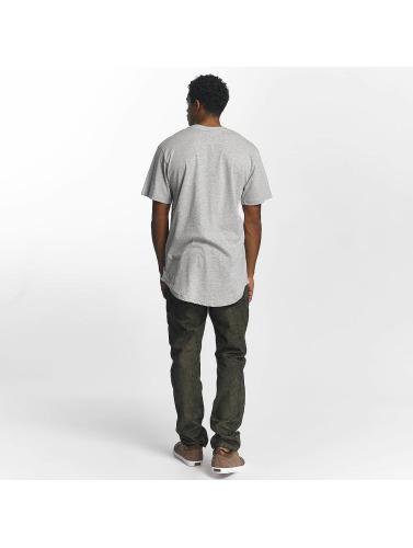 Southpole Hombres Camiseta Merket I Gris falske billig pris virkelig billig online ztl3f4S1