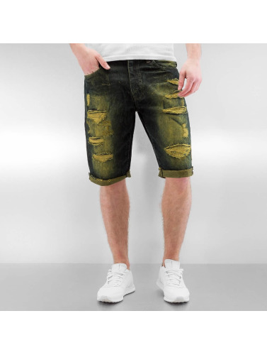 Southpole Herren Shorts Ripped in indigo