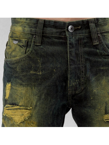Southpole Herren Shorts Ripped in indigo