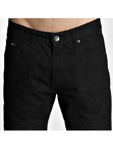 Southpole Herren Shorts Biker in schwarz
