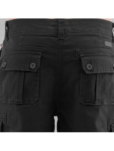 Southpole Herren Shorts Flex in schwarz