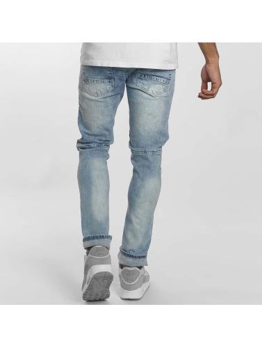 Southpole Herren Slim Fit Jeans Menelaos in blau