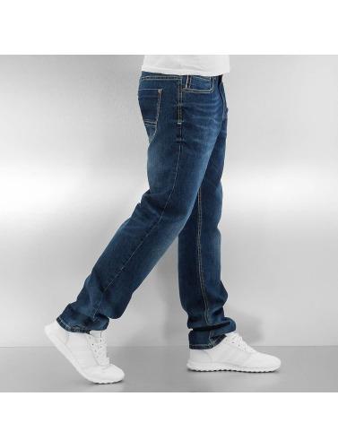 Southpole Herren Straight Fit Jeans Flex in blau