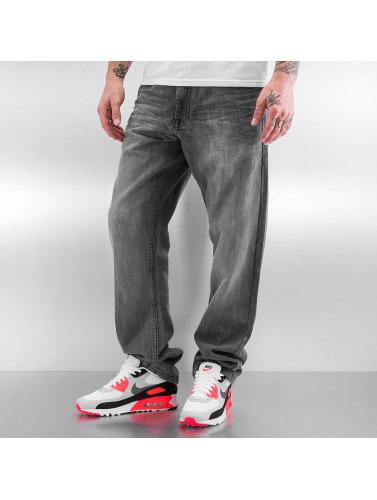 Southpole Herren Straight Fit Jeans Deacon in grau