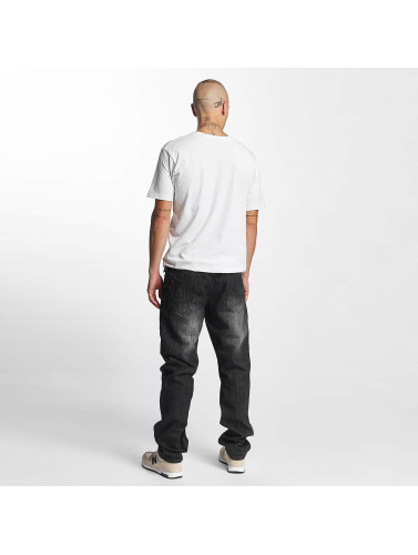 Southpole Herren Straight Fit Jeans Slim in schwarz