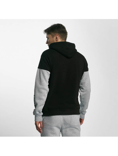 Southpole Hombres Sudadera Patch in negro