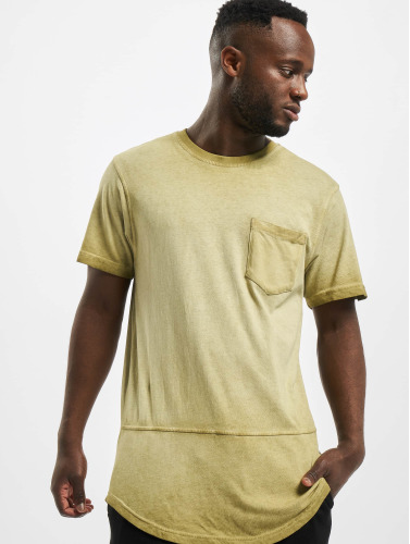 Southpole Herren T-Shirt Scallop in olive