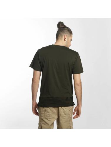 Southpole Herren T-Shirt Pocket in olive