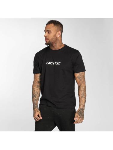 Staple in negro Pigeon Pigeon Camiseta Hombres AwP6qrA