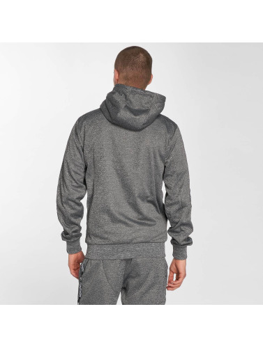 Starter Hombres Sudaderas con cremallera Peppers Full Zip in gris