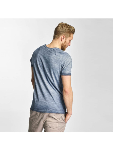 Sublevel Hombres Camiseta NR. 72 in azul
