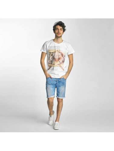 Sublevel Hombres Camiseta No Limit in blanco
