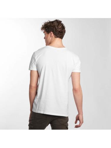 Sublevel Hombres Camiseta South Beach In Blanco kjøpe billig tumblr gratis frakt nye f9r1Xd64