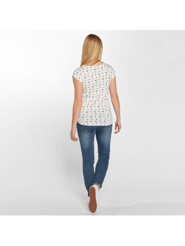 Sublevel Mujeres Camiseta SAILOR in blanco