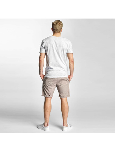 Sublevel Hombres Camiseta Surf Culture in gris