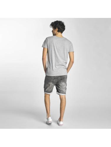 Sublevel Hombres Camiseta No Limit in gris