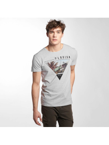 Sublevel Hombres Camiseta South Beach in gris