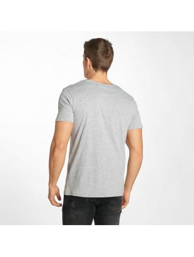 Sublevel Hombres Camiseta Future in gris