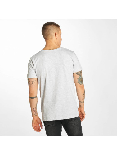 Sublevel Hombres Camiseta Take The Risk in gris