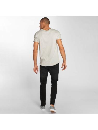 Sublevel Hombres Camiseta Beachlife in gris