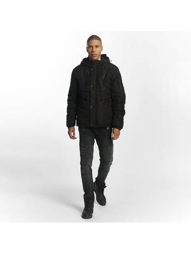 Sublevel Hombres Chaqueta de invierno Quilted in negro