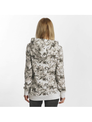 Sublevel Damen Hoody Allover Print in grau