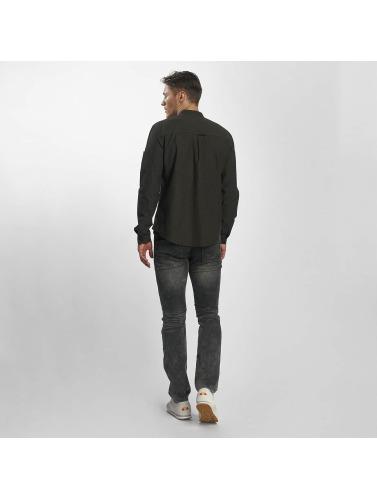 Sublevel Hombres Jeans ajustado Slim Jogger Jeans in gris