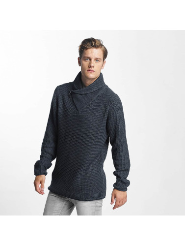 Sublevel Hombres Jersey Turtle in azul