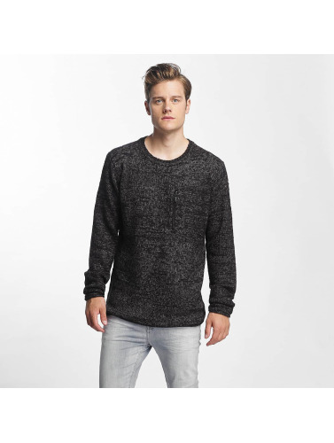 Sublevel Hombres Jersey Knit in negro