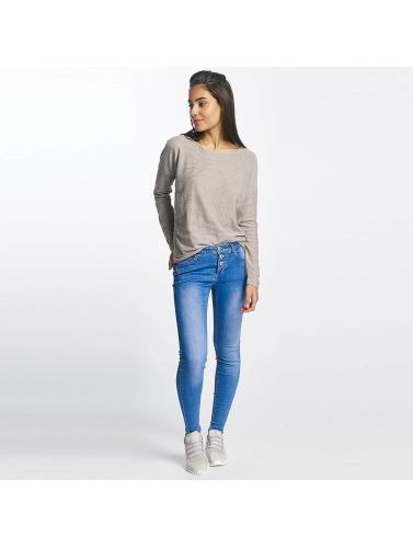 Sublevel Damen Longsleeve Oversize in grau Rabatt Sneakernews Neue Ankunft Verkauf Online XX8K8KadCB