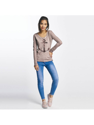 Sublevel Damen Longsleeve Anchor in rosa