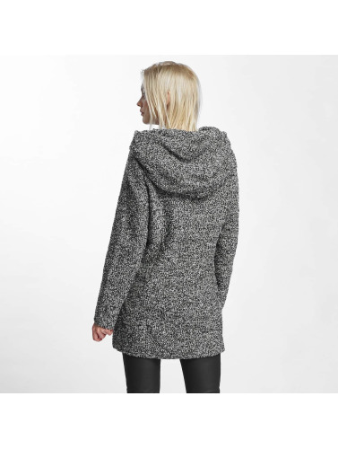 Sublevel Damen Mantel Hooded in grau