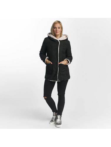 Sublevel Damen Mantel Hooded Coat in grau